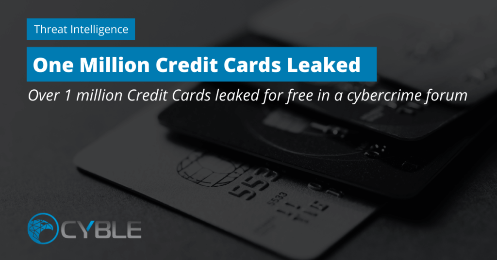 Cyble-1-Million-Credit-Cards-Information-Leaked-Cybercrime-Forum-1