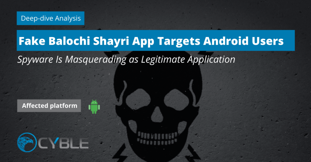 Cyble-Balochi-Spyware-Targets-Android-Users