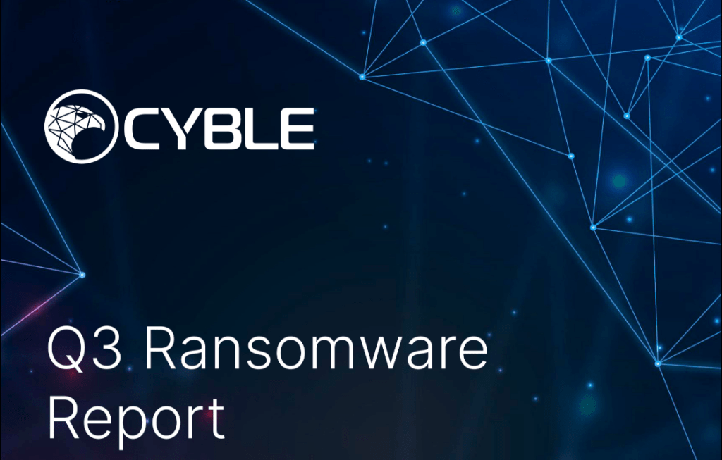Cyble-Q3-Ransomware-Report-Cover